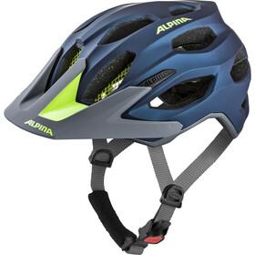 Alpina Carapax 2.0 Helmet darkblue-neon